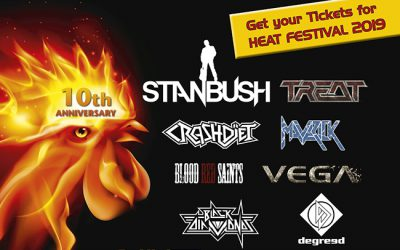 Confirmed Bands for H.E.A.T Festival 2019